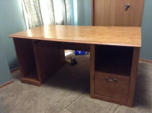 Oak Finish Desk