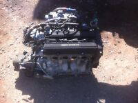 B18B1 and Y 80 engine and trans complete swap