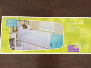 Brand new in box extra long child's bedrail