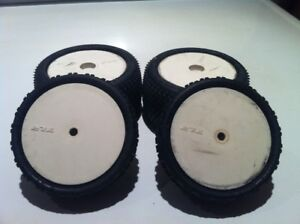 rc 1/10th scale in door offroad front mounted tires for sale