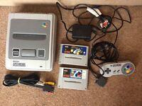 Super Nintendo Snes + 2 games