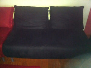 Black Futon/Full Sofa Bed