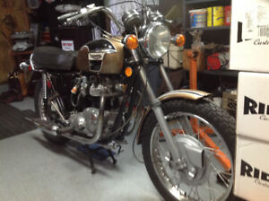 Mint condition Triumph Bonneville