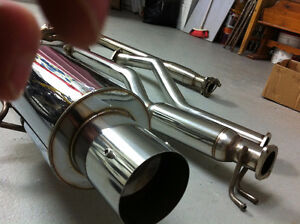 Full Racing exhaust line Honda Civic Si or Ex Civic 01-05