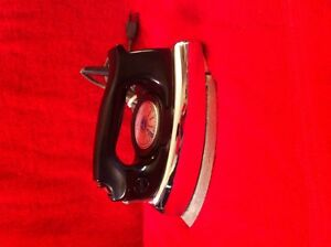 Vintage 1950's Hoover Steam or Dry Iron.