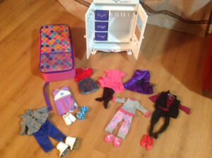 Journey Girl/ American Girl Closet including clothes and accesso