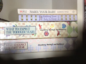 Kids, toddles, what to expect etc 4 book lot