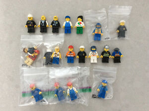 Lot de figurines Lego City