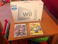 Wii plus 2 games