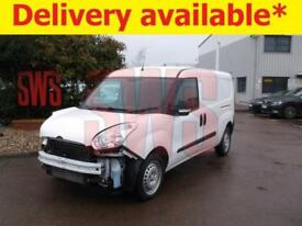 2015 Vauxhall Combo 2300L2H1 CDTi S/S 1.6 DAMAGED REPAIRABLE SALVAGE