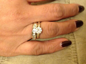 1.08 CT Canadian Diamond Engagement Ring From BEN MOSS