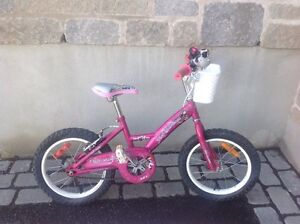 Super vélo fille f16 Louis Garneau