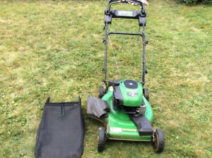 JOHN DEERE LAWN MOWER AND LEAF BLOWER