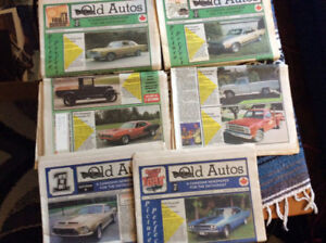 Old autos (Canadian newspaper for the car enthusiast ) est.1987
