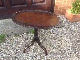Mahogany Antique Side Table
