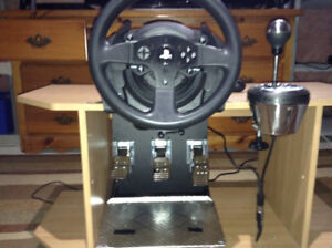 Thrustmaster T300rs/Th8a Shifter/ and T3pa Pedals!