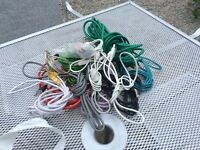 Job lot of Ethernet,internet,telephone cables