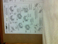 Crib,mattress, changing table,diaper genie,sheets