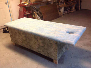 Custom make massage table
