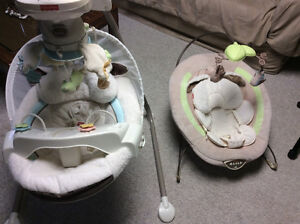 Fisher Price My Little Lambs Swing $40
