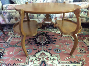 Collection of vintage, bedside, coffee, occasional tables etc.