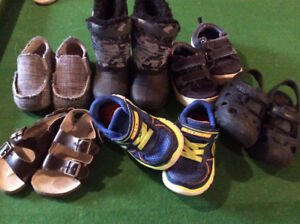 Toddler Boys size 6 shoes lot