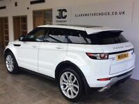 2012 Land Rover Range Rover Evoque 2.2 SD4 Dynamic 4x4 5dr Diesel white Automati