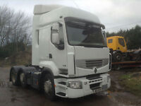 RENAULT PREMIUM 460 6X2 TRACTOR UNIT **EURO 5 ALL VOLVO RUNNING GEAR