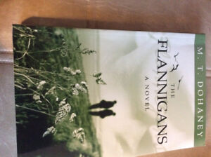 Signed Copy The Flannigans by M.T.Dohaney( local author)