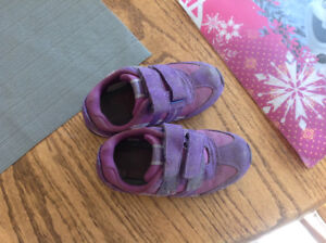 2 pairs of girls size 10 shoes
