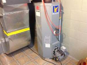 Oil fired hot water heater - New price