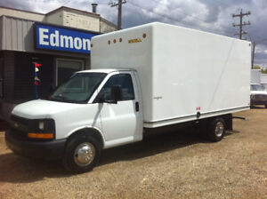 2013 Chevrolet Express 3500 16ft CUBE VAN