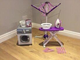 Casdon Toy Washing Machine & Wash Day Set