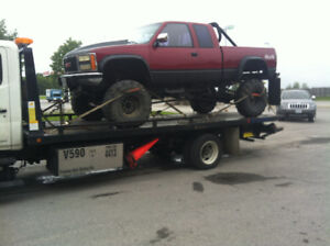 Flatbed Towing services, best prices, all GTA