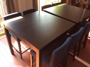 IKEA Bjursta bar table and chairs Cambridge Kitchener Area image 2