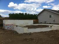 ICF Foundations Supplied/Installed