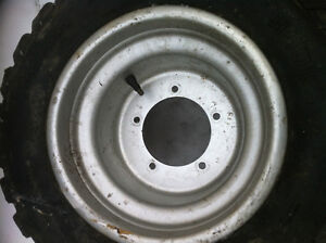 ATV 5 BOLT DID WHEELS WITH STUDDED TIRES FOR ICE Windsor Region Ontario image 3