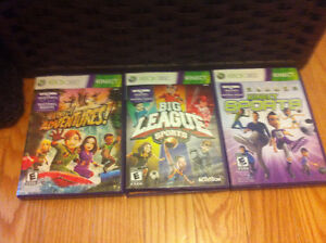Xbox kinect games-great for exercise
