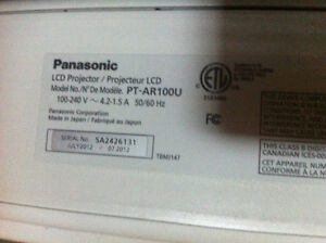 Projector TV Panasonic New For Sale with STAND!