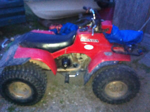 Want to sell atv and more or trade another 1