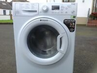 Hotpoint 9kg Smart Tech Silent washing machine