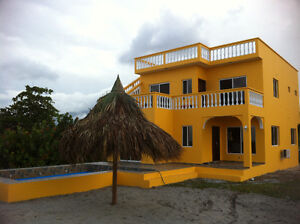 Caribbean warm weather land, bungalows and beach homes
