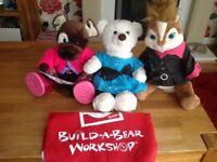 3 Build A Bears.