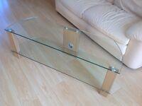 Oak & Glass 1200mm TV Stand (Ttap Vision L630 - John Lewis)