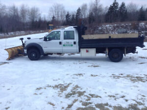 F550 Ford Crew Cab with dumb box
