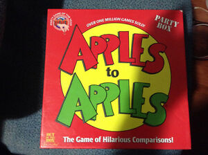 Apples to Apples party game for sale