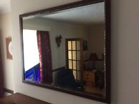 Over mantle mirror