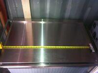 Base de coffre 36'' homemade stainless steel 50$ Ferme!