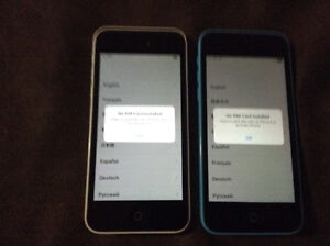 Two Iphone 5c