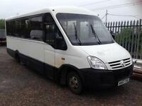 Iveco Daily iris bus auto 16 seater with lift 2007 57 reg